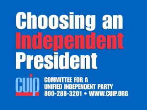 Choosing an Independent President 2003 Conference